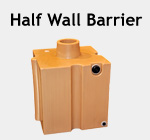 Half Wall Barrier