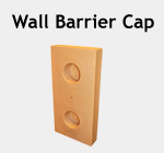 Wall Barrier Cap