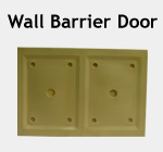 Wall Barrier Door